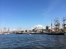 Windjammer in Rostock